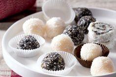 Makovo-kokosový šnek a kuličky Czech Recipes, Raw Food Recipes, Ethnic Recipes, Something Sweet, Mini Cupcakes, Panna Cotta, Biscuits, Goodies, Muffins