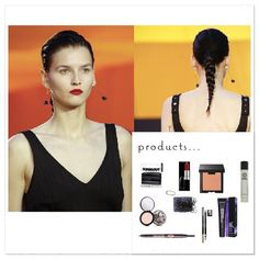 Go to my #blog and read ' #new #hair and #beauty #trends #2016 and get all the #links to #products to create the ' #plaited #pony ' lool straight off the #runway from @celine.world #plaits #hairinspo #ponytail #redlips #catwalk #celine #beautify #newtrend #ontrend #bblogger #fblogger #fashion #fashionista #styleblogger #beautyfinds #pearlsandvagabonds