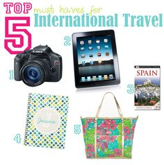 must haves for traveling