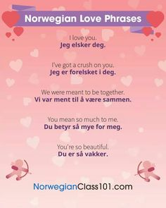 Frases amorosas Language Study, Foreign Language, Norwegian Words, Norway Language, Norwegian Christmas, Proverbs Quotes, Norway Travel, School Worksheets, Idioms