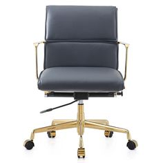 Claire Leather Office Chair