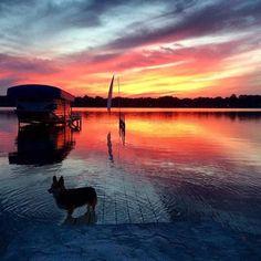 Beautiful Dori Pole photo taken by @mjswansonkazoo on Gourdneck Lake  www.doripole.com