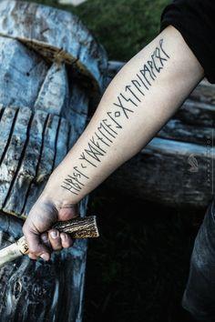 The Bullshit Stops When The Hammer Drops — Tattoo by Kai Uwe Faust of Kunsten på Kroppen