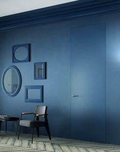 Sistema Zero #doors by FerreroLegno #blue @FerreroLegno porte protagoniste