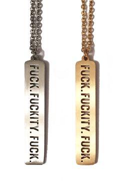 Triple F*** Cutout -  - Metal Marvels  - in silver please!