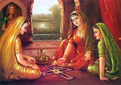 66 breath taking indian paintings African Art Paintings, Modern Art Paintings, Indian Folk Art, Indian Artist, Indian Artwork, Rajasthani Painting, Women Poster, Skirt Mini, Madhubani Art