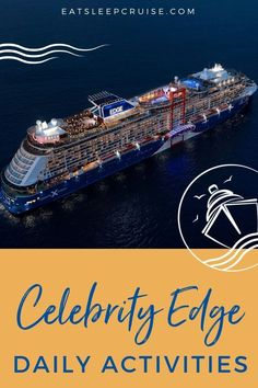 We have all the Celebrity Edge Today Daily schedules from a recent 2019 7-Night Western Caribbean cruise to help with your cruise planning. #cruise #cruisetips #cruiseship #thingstodo #CelebrityEdge
