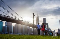 NY Wedding Photography: Danielle & Will - Brooklyn Engagement Photos by Michael Justin Films