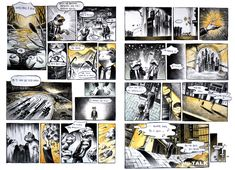 Comic Layout, Storyboard, Photo Wall, Cartoon, Manga, Comics, Drawings, Design, Style