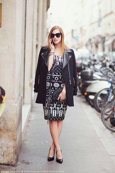 Chiara Ferragni ( Coats & Graphic Dresses )