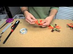 ▶ Bowdabra Stacked Hair Bow Making Tutorial - YouTube