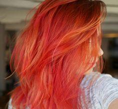 Red/orange/pink hair - misslipgloss.nl