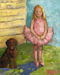 Best Friends Canvas Reproduction