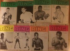 1964-1966 Australian Ring magazines 3 complete years in
