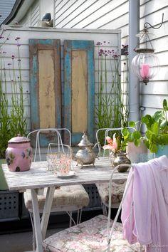 A minha varanda, o meu espaço para o exterior