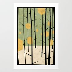 Yeti Dreams Art Print by Yetiland - $18.00