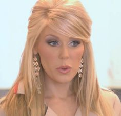 Gretchen Rossi- like this hair style but would want it all pulled up