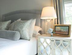 bedroom - soft grey & pale aqua