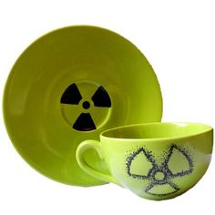This post-apocalyptic green ceramic teacup is perfect for the hardened survivor in our life. It's important to take some downtime from zombie slaying to simply relax with a cup of tea from time to time. Designed by @FeliciaAnneKing, single serving cup with saucer will do the job. Post Apocalyptic, Teacup, Artisan, Relax, Ceramics, Tableware, Green, Artwork, Life