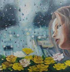 Oil Paint Romantic Series (Yağlıboya Romantic Seri) Romantic Series, Event Organization, Art Director, Fine Art, Artist, Flowers, Painting, Oil, Google
