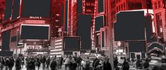 Ad Age Imagines a World Without Ads — and It's Not Cheap. By Simon Dumenco (Photo by C. Advertising, Ads, New Market, Yahoo Images, Ad Age, New York Skyline, Image Search, World, City