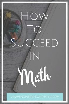 Math is one of those subjects that can cause anxiety to set in for the most dedicated student. Student Studying, Student Life, College Students, Study Skills, Study Tips, College Fun, College Tips, Stem Students, Maths Exam