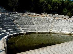Butrint- The Theatre by Peter Ashton aka peamasher, via Flickr