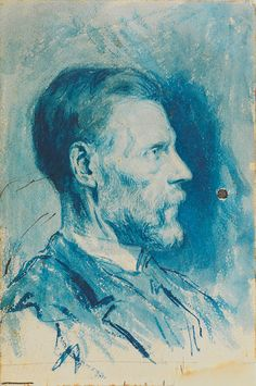 Pablo Picasso, The father of the artist. Barcelona, ​​c.1896 on ArtStack #pablo-picasso #art