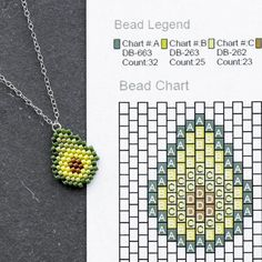 Happy National Avocado Day from Fusion Beads - Happy National Avocado Day! We ho. - Happy National Avocado Day from Fusion Beads – Happy National Avocado Day! We hope that your day - Pony Bead Patterns, Beaded Jewelry Patterns, Beading Patterns, Peyote Stitch Patterns, Art Patterns, Embroidery Patterns, Fusion Beads, Pony Bead Crafts, Quilled Creations