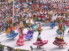 Communities that have been practicing their traditions for thousands of years...La Guelaguetza