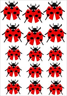 Free Down load, Build Your Own Lady Bug from Paper Diy Origami, Origami Paper, Diy And Crafts, Crafts For Kids, Paper Crafts, Ladybug Crafts, Paper Snowflakes, Paper Folding, Tissue Box Covers