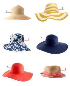 A floppy hat ♥