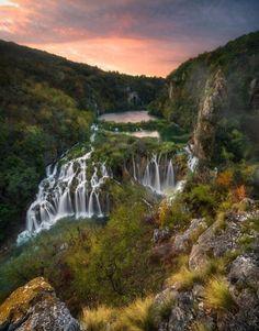 Plitvice Lake National Park, Kroatien. Foto: @difruscia