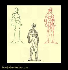 artzinefantastique.com: Comment dessiner Spiderman