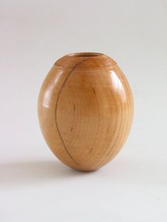 Turned Maple Ostrich Egg Miniature Wooden by naturalrotations