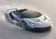''2017 Lamborghini Centenario Roadster '' 2017 Véhicules concept,  Nouvelles voitures Pour 2017