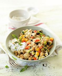 Gemüsecouscous mit Aprikosen Rezept - [ESSEN UND TRINKEN]