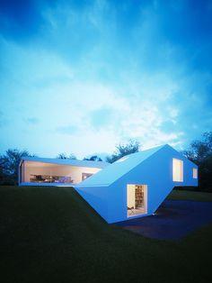Casa em forma de 'U' Arquiteto: Hornung and Jacobi Architecture