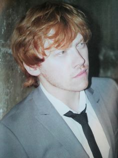 Rupert Grint - growing up nicely ;)