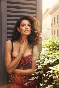 GIOKATHLEEN: Бьянка Балти для Dolce& Gabbana by John Russo