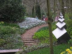 Geometric Garden Sculpture, Keukenhof, Netherlands