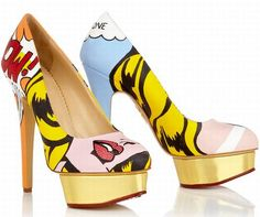 Marvel high heels