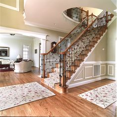 Colton Model Foyer and Stairs