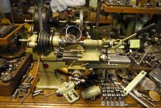 Watchmakers lathe and tooling accessories