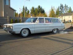 My first Mopar and first old car - 1967 Dodge Cornet Deluxe station wagon Mopar, Dodge Wagon, 1967 Dodge Coronet, Welcome Wagon, Model Car, American Muscle Cars, Station Wagon, Old Cars, Plymouth