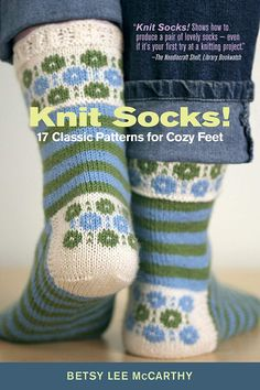 17 classic patterns for cozy feet by Betsy Lee McCarthy and John Pol Knit socks! 17 classic patterns for cozy feet by Betsy Lee McCarthy and John Pol . Crochet Socks, Knitting Socks, Free Knitting, Knitting Patterns, Knit Crochet, Knit Socks, Used Books Online, Patterned Socks, Fair Isle Knitting