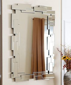 Another great find on #zulily! Silver Delilah Rectangle Mirror #zulilyfinds