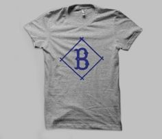 Brooklyn Dodgers T-Shirt. Aww. My grandpa was a Brooklyn Dodgers fan, and he never forgave them for defecting to LA