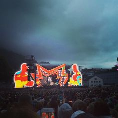 Robbie Williams concert in Bergen