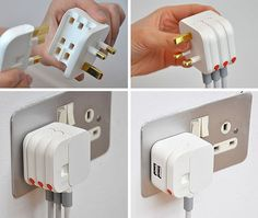 Royal College of Art student Min Kyu Choi re-imagined the bulky UK power plug, and it's brilliant.